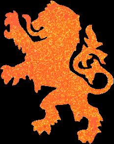 Leeuw Glittertattoo Sjabloon