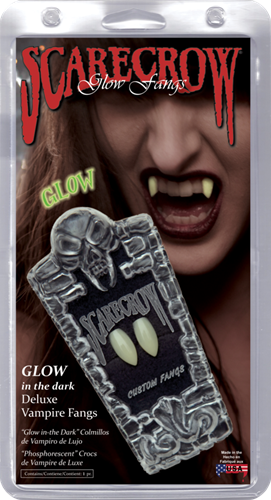 Glown in the dark Deluxe Vampier tanden