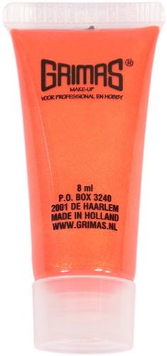 Grimas Liquid Make-up Pearl Pure Oranje