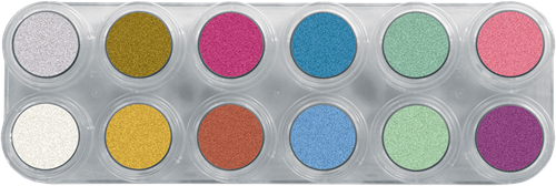 Grimas Water Make-up Pearl Pure P12 Palet-2