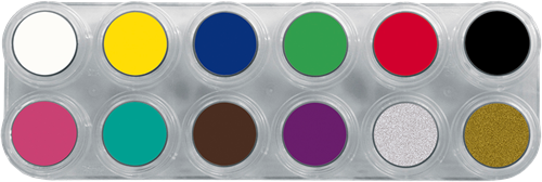 Grimas Water Make-up Pure Palet A12-2