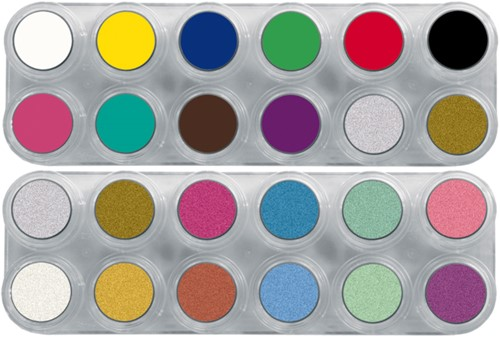 Grimas Water Make-up Pure Palet