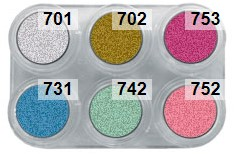 Grimas Water Make-up P6 Pearl Pure Palet-2