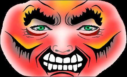 Grounchy Masker Schmink Sjabloon-2