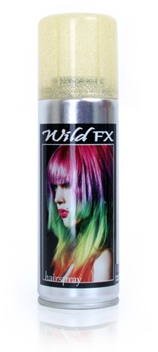 Haarspray Glitter Goud