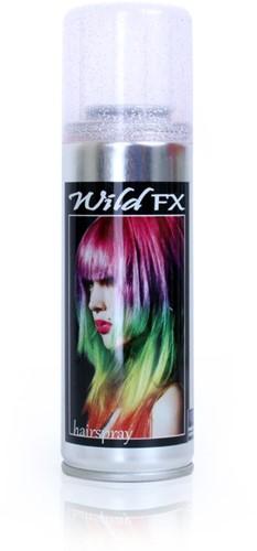 Haarspray Glitter Zilver