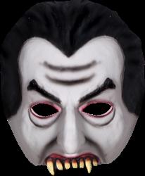 Dracula half masker halloween