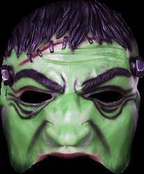 Frankenstein half masker halloween