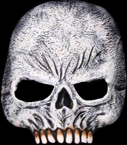 Skull latex half masker halloween