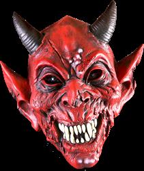Halloween Duivel latex masker