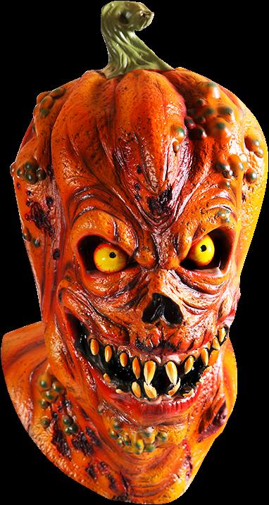 Halloween Pompoen.Halloween Pompoen Latex Masker