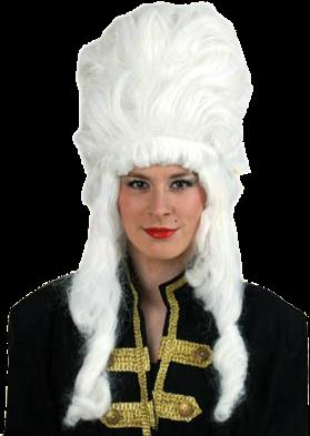 Hofdame Hoog Model Wit