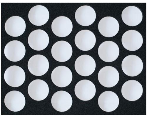 Inlay voor Superstar Schmink Case 24 stuks van 16 gram