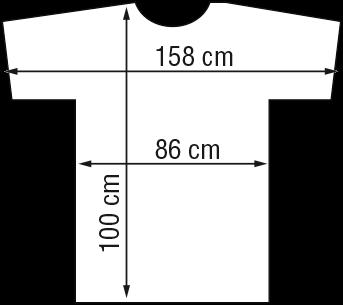 Kapmantel Zwart Flexi Velcro