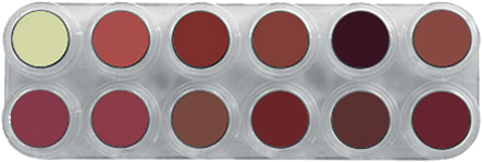 Grimas Lipstick (Pure) Palet LB
