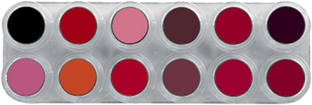 Grimas Lipstick (Pure) Palet LF