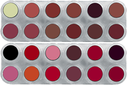 Grimas Lipstick (Pure) LK (LB+LF) Palet