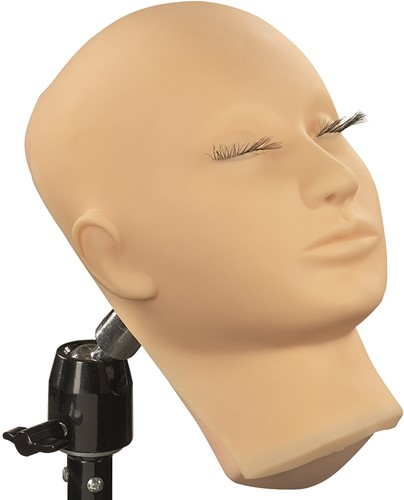 Schmink oefenhoofd met afneembaar masker-2