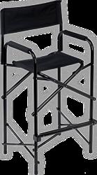 Schmink stoel zwart incl. draagtas