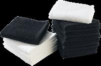 Handdoekje Zwart-2