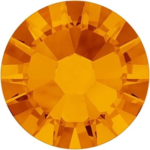 Swarovski mini steentjes mandarijn