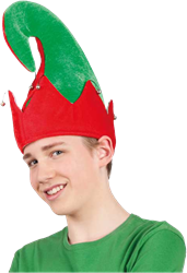 Kerst elfen muts