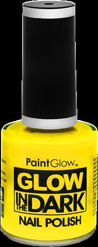 Nagellak geel neon