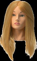 Oefenhoofd synthetische haren