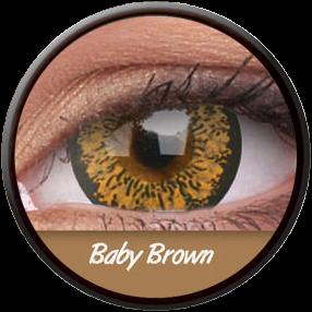 Phantasee Big Eyes Baby Brown Contactlens