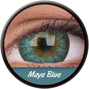 Phantasee Big Eyes Maya Blue Contactlens