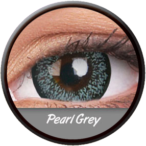Phantasee Big Eyes Pearl Grey Contactlens