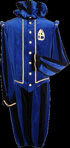 Pietenpak Pamplona Blauw Zwart M