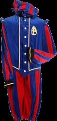 Pietenpak Pamplona Rood Blauw M