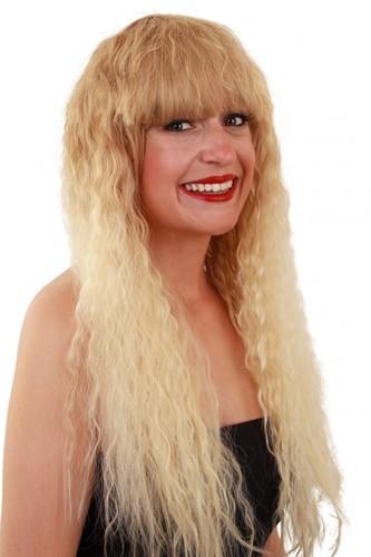 Pruik Sophie blond krullend