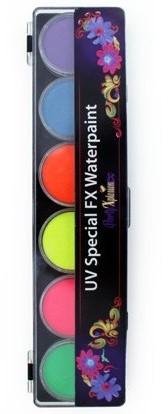 PXP Special FX Neon Palet 6 Kleuren Groot