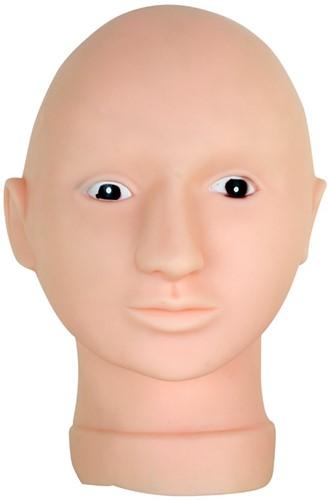Schmink Oefenhoofd met masker en tafelklem
