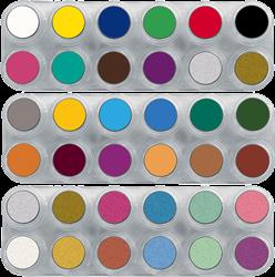Grimas Water Make-up Pure Palet 36 kleuren