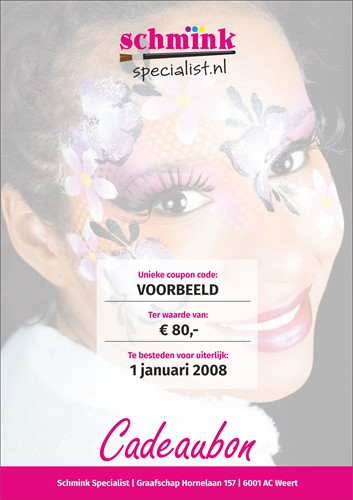cadeaubon 80 euro