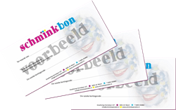 Schminkbon 100 euro