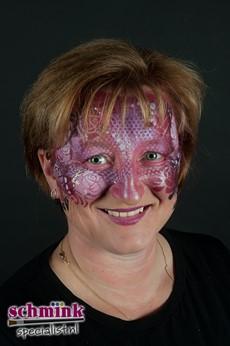 Fotoalbum - Workshop schminken met sjablonen-539