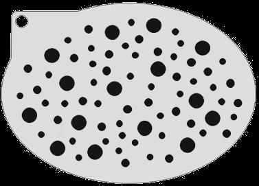 Schminksjabloon Cirkels
