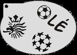 Schminksjabloon Voetbal