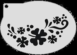 Schminksjabloon Klaverblad