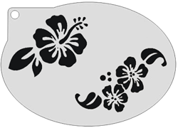 Schminksjabloon Bloemen