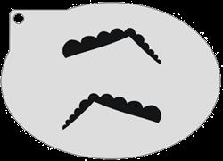 Schminksjabloon Wenkbrauw