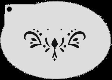 Schminksjabloon Patroon Anna