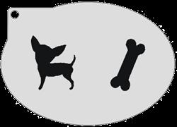 Schminksjabloon Hondje & Bot