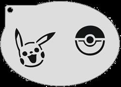 Schminksjabloon Pokemon