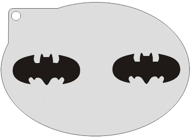 Schminksjabloon Batman