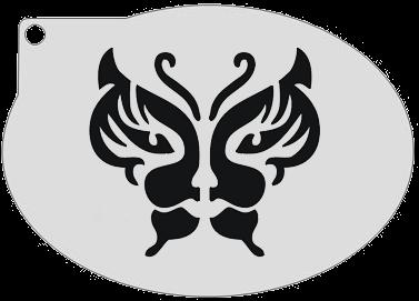 Schminksjabloon Vlinder